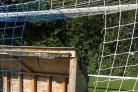 VICIOUS: Volunteers from Ilminster Town Football Club have been left devastated after finding their nets cut by vandals