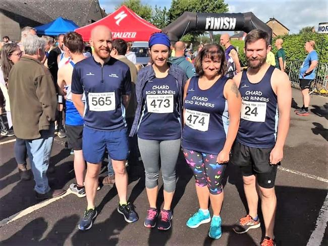 CRRs Martock Liam Whyte, Lizzie Smith, Nicky Smith, Phil Goodridge- Reynolds 10k.jpg