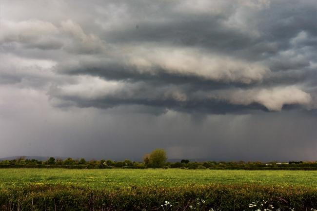 Storm over Cheddar by Andy Linthorne.