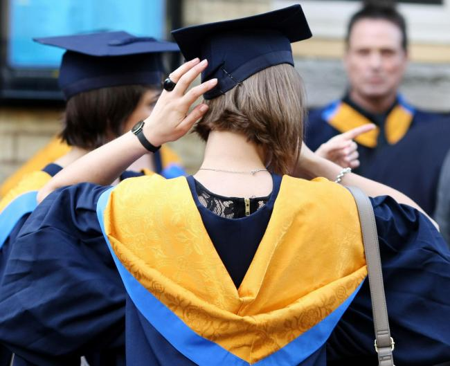 SATISFACTION LEVELS DROP: Almost half of the UK unviersities and colleges have seen a fall in student satisfaction ratings
