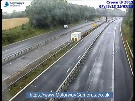 The M5 between Taunton and Wellington