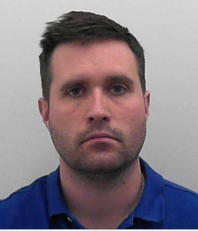 JAILED: Benjamin Thornton was jailed for three years and four months at Bristol Crown Court on July 23