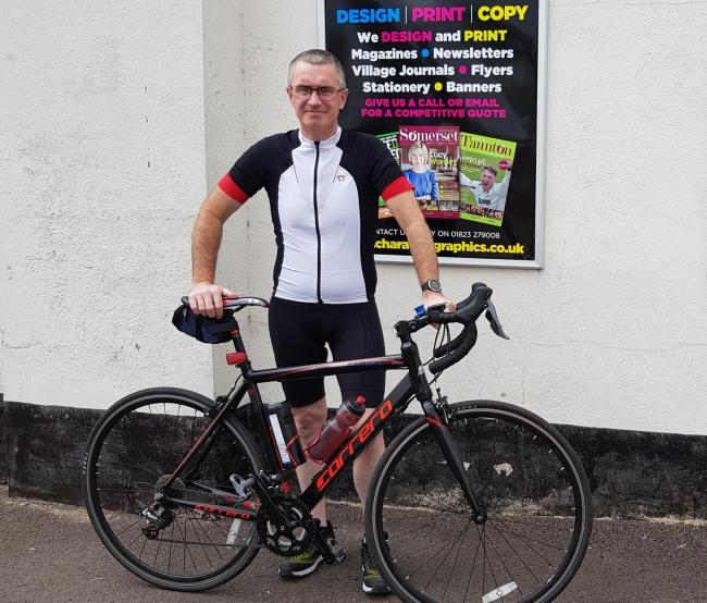 Paul Matherick cycle for cancer