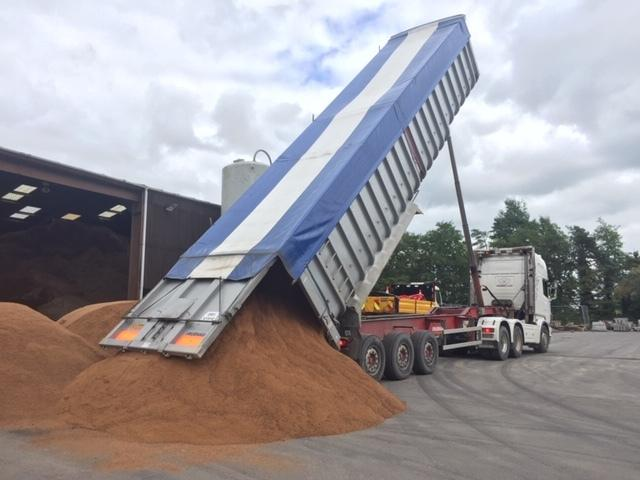 READY FOR WINTER: Somerset's salt delivery