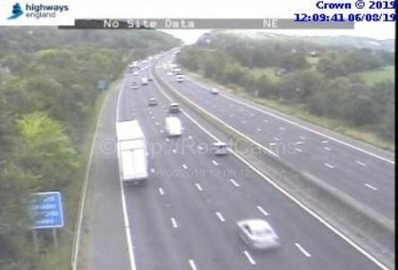 AFTERMATH: The M5 reopen after the crash