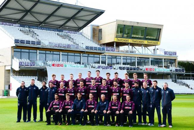 SQUAD: Somerset are looking to boost their Vitality Blast qualification chances with another win. Pic: Steve Richardson