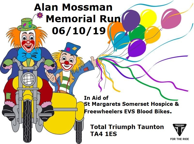 Alan Mossman Memorial Motorbike Ride