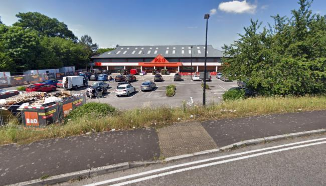 PURCHASE: The site of the B&Q branch in Glastonbury. PICTURE: Google Street View