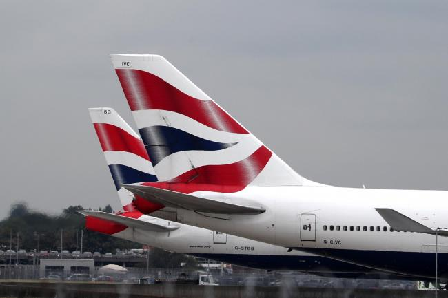 BA pilots' support for pay strike 'virtually 100%' | Chard