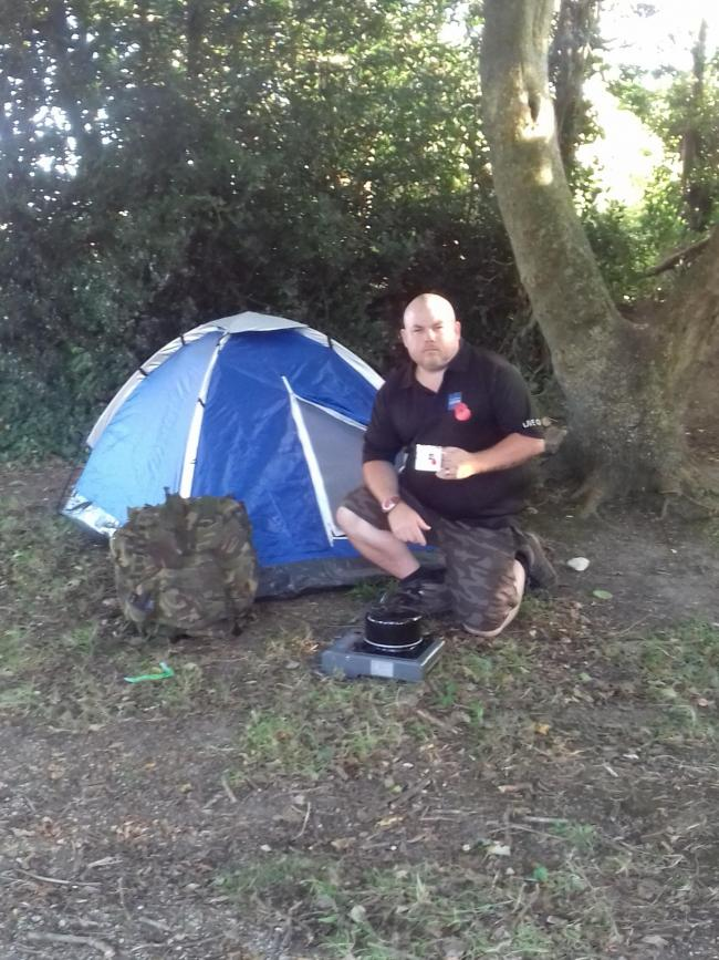 RAF veteran to be abandoned on remote island | Chard