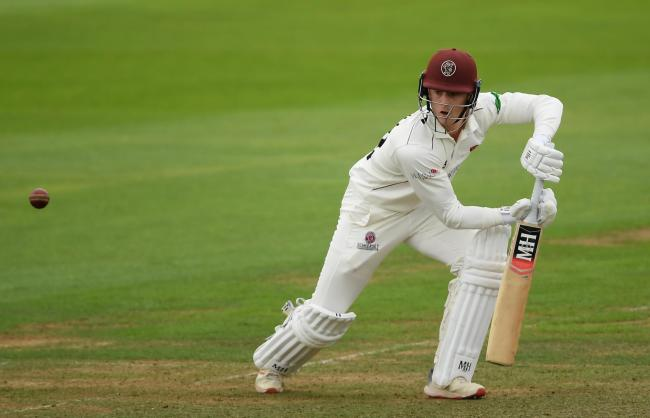 SOLID: Tom Abell batted nicely for 66 against Yorkshire. Pic: SCCC