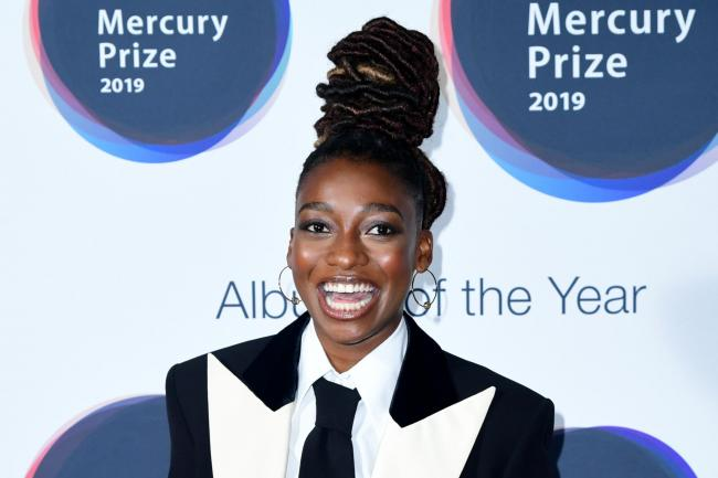 Little Simz during the Hyundai Mercury Prize 2019, held at the Eventim Apollo, London