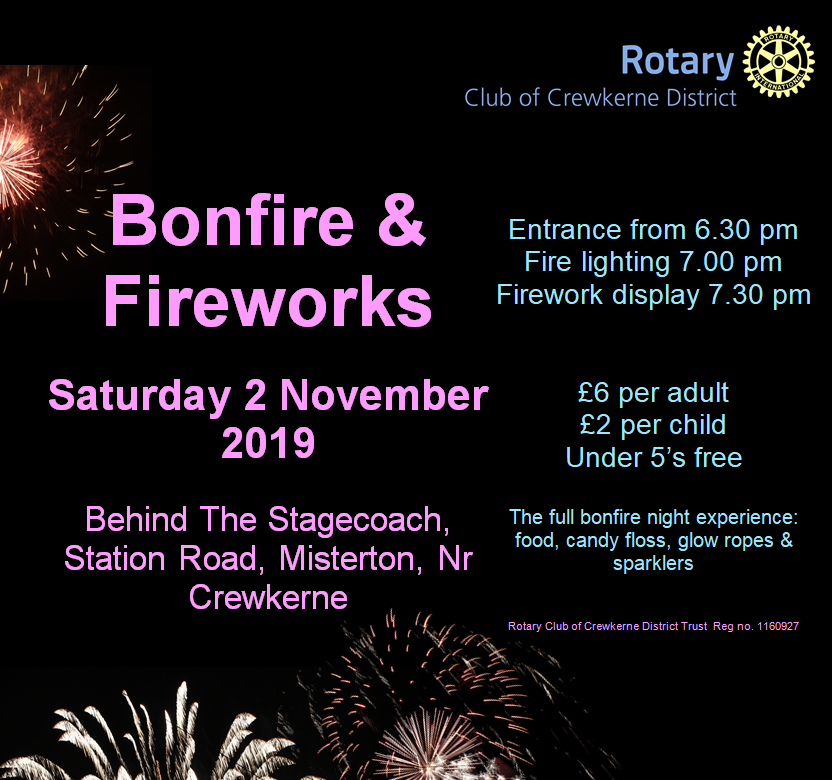 Crewkerne Bonfire and Fireworks