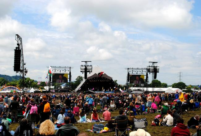 UP FOR GRABS: 50 pairs of tickets for the Glastonbury Festival. PICTURE: Paul Jones