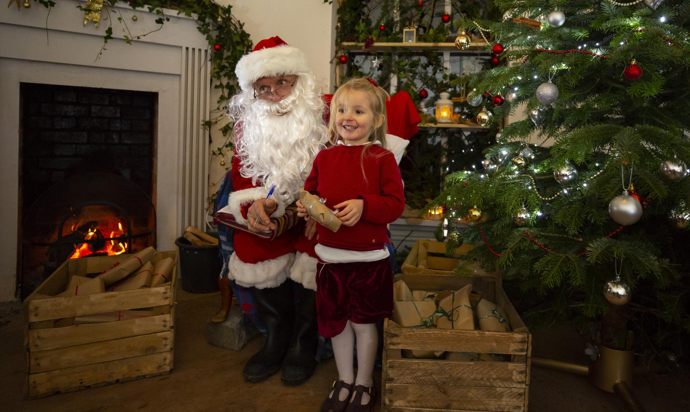 Father Christmas at Hestercombe