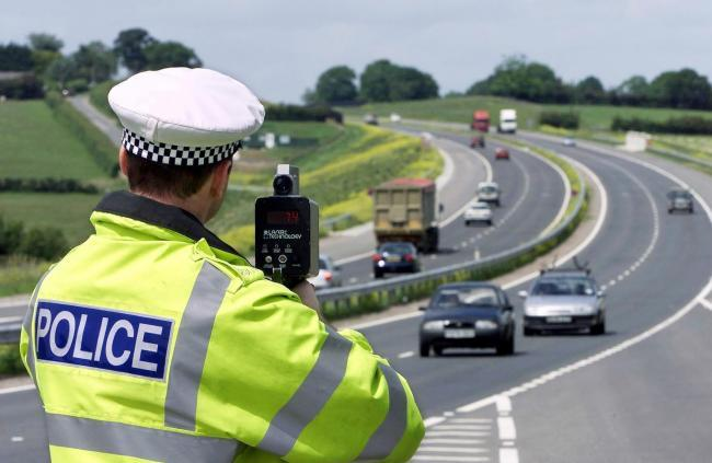 Police issue 1,073 speeding tickets in a month - despite stay home rules