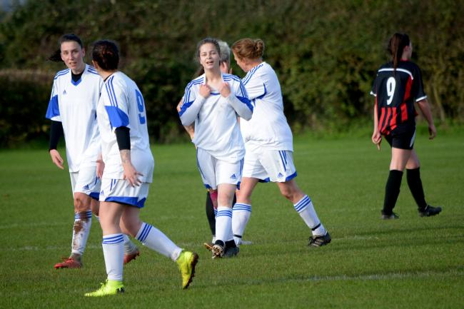 Combe St Nicholas Ladies score at Bishops Lydeard