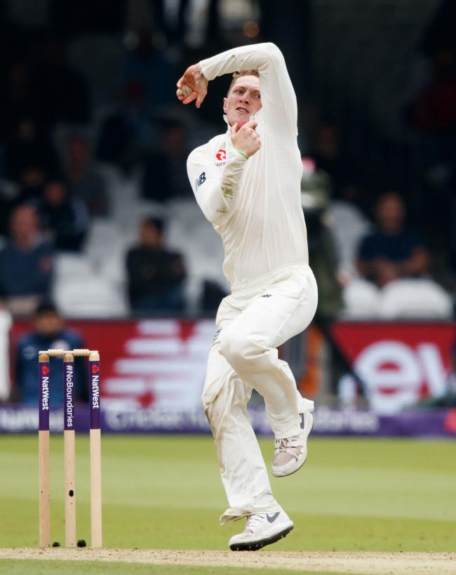 THE CHOSEN ONE: England and Somerset spinner Dom Bess (pic: PA)