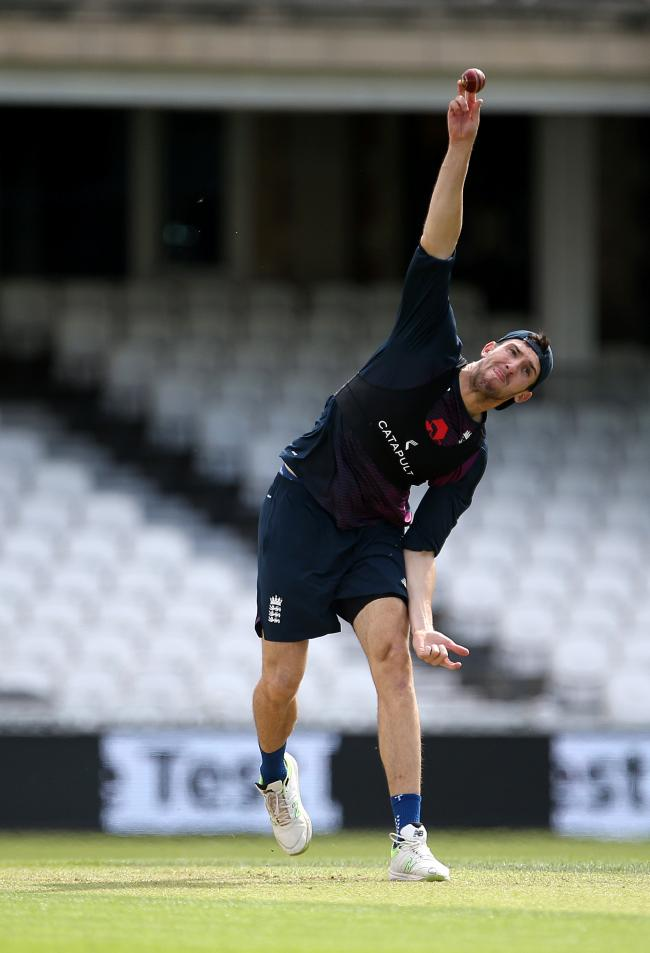 ABSENT: All-rounder Craig Overton is one of the Somerset players who will be missing in July and August 2021, due to their taking part in The Hundred (pic: PA)