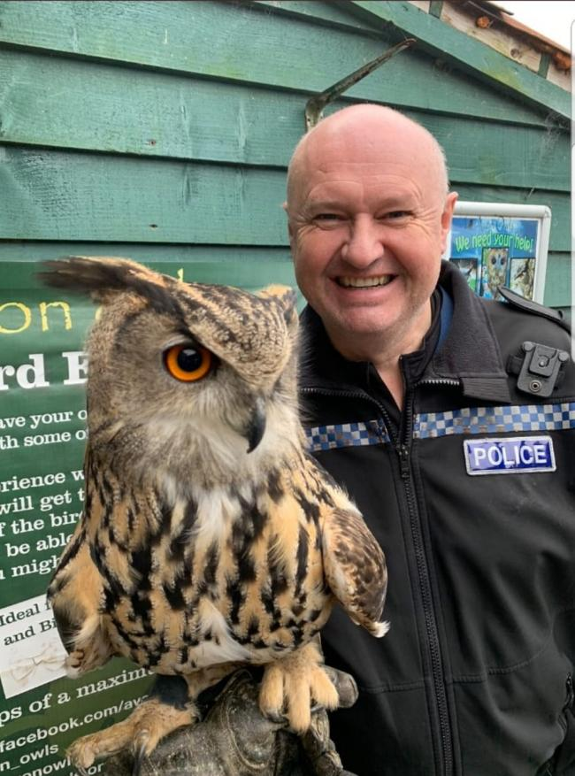 NEW ROLE: PC Peter Wills has been appointed as the new wildlife officer at Avon and Somerset Police
