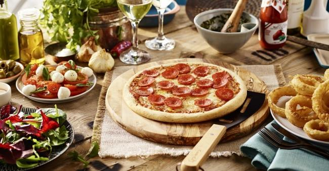VALUE: The voucher means people could land a pizza for as little as 25p