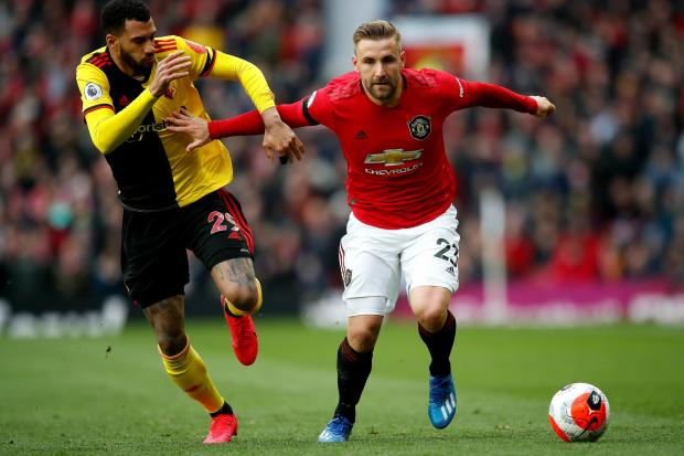 Luke Shaw has impressed in a new role for Manchester United