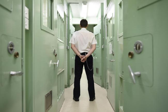 A member of prison staff