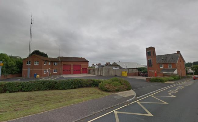 Chard Fire Station CLOSED to public over coronavirus fears