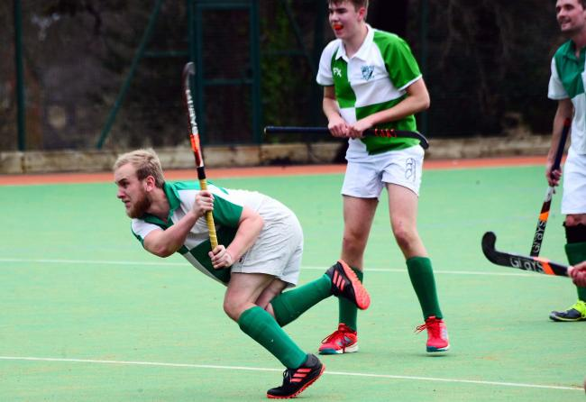 GOING UP: It's been a good year for Chard Hockey Club's men's teams. Pic: Steve Richardson