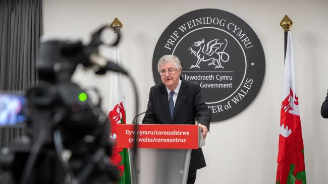 LOCKDOWN: The move was announced by First Minister of Wales, Mark Drakeford