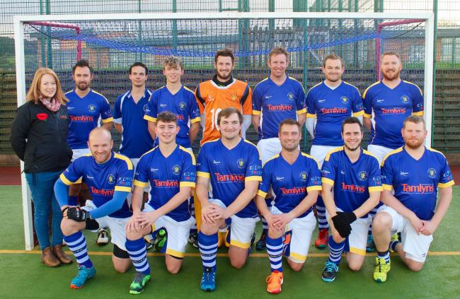 GOING UP: Minehead Hockey Club men's 1st XI are among the teams to have won promotion last season