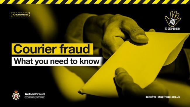 WARNING: Avon and Somerset Police are urging people to be vigilant to courier fraud