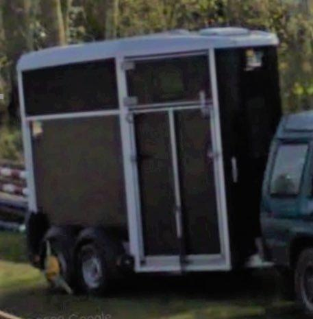 STOLEN: The horse box was taken from Whitney Hill, Horton