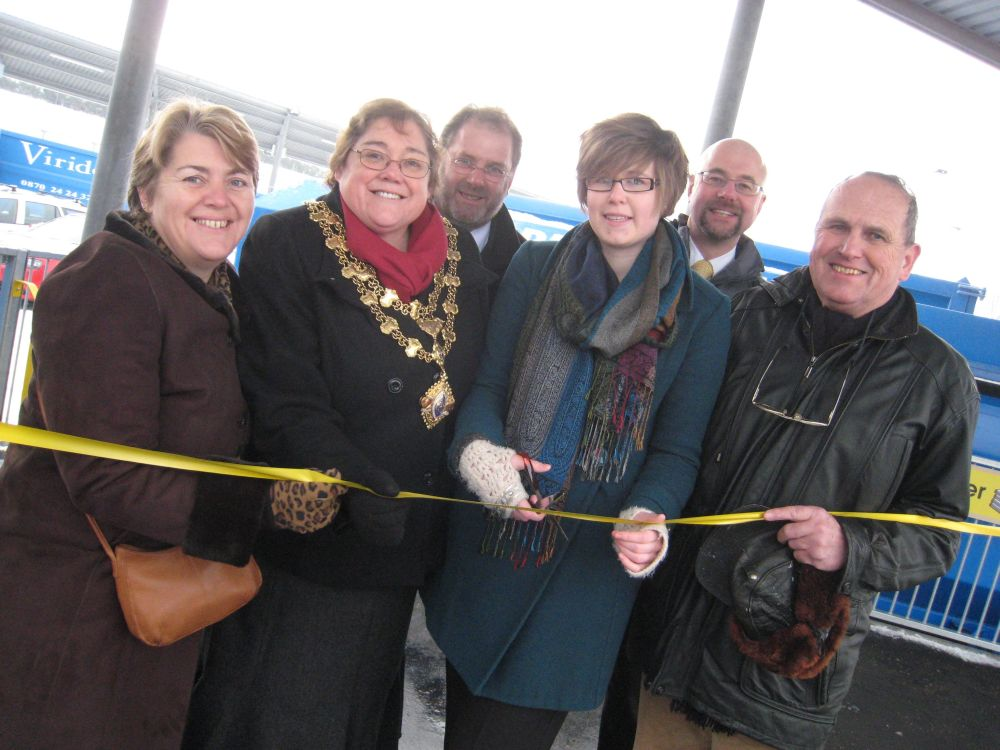 New recycling centre unveiled in Chard