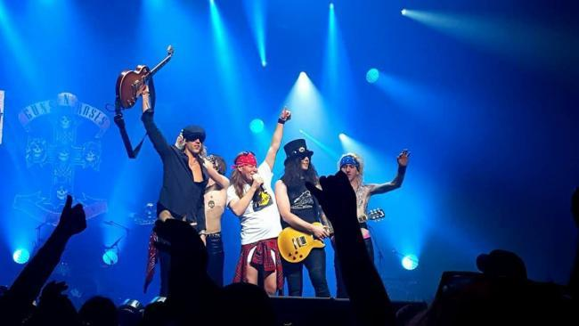 CHARDROCK: Last year's headliners, The Guns N Roses Experience
