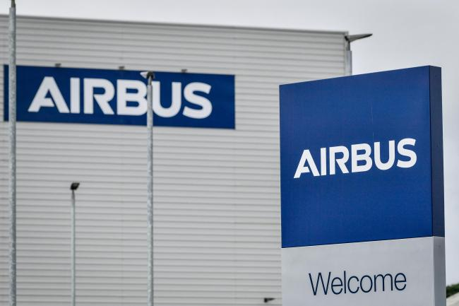 An Airbus sign