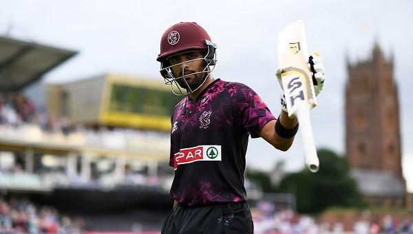 STAR ATTRACTION: Babar Azam is back at Somerset (pic: SCCC)