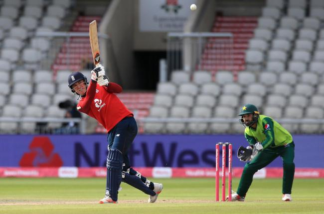 HARD-HITTING: Somerset and England player Tom Banton in action against Pakistan this week (pic: Lindsey Parnaby/NMC Pool/PA Wire)