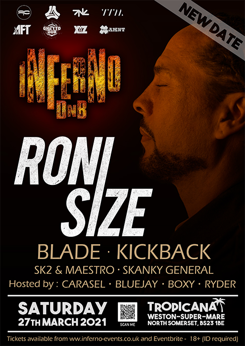 Inferno DnB presents RONI SIZE