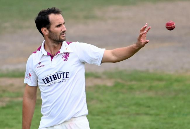 THREE WICKETS: Somerset all-rounder Lewis Gregory (pic: SCCC)