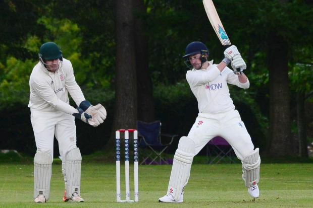 SWING: Ilminster batsman Josh Lee in action against Chard (all pics: Steve Richardson)
