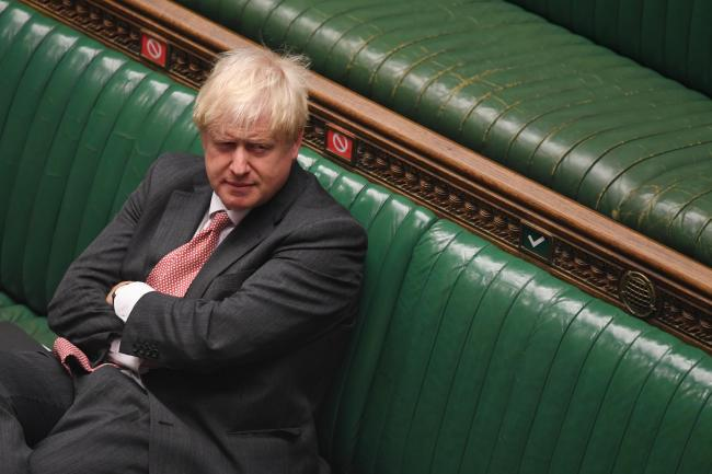 DEBATE: Prime Minister Boris Johnson during the debate on the Internal Market Bill in the House of Commons. PICTURE: UK Parliament/Jessica Taylor