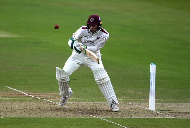 STEADY: Somerset's Eddie Byrom in action during day one of the Bob Willis Trophy Final at Lord's, London. PICTURE: PA Wire/PA Images