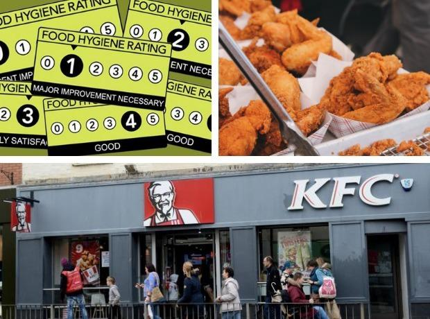 RATINGS: The food hygiene ratings for every KFC restaurant in Somerset