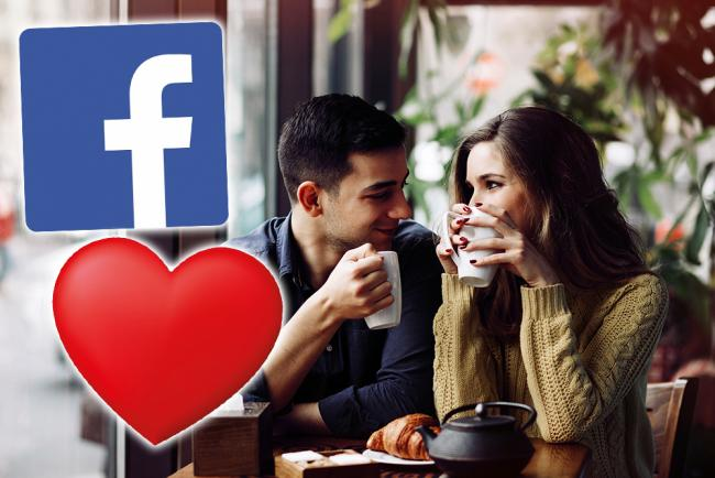 LOVED UP: The new Facebook Dating feature hopes to unite UK people looking for love