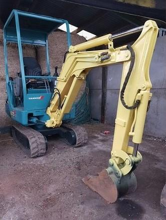 RECOVERED: One of the two diggers believed stolen 17 years ago
