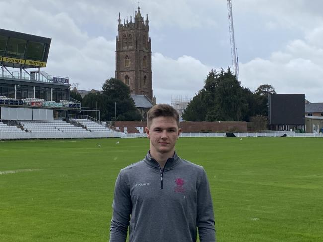 CONTRACT AGREED: Somerset Academy player Sonny Baker