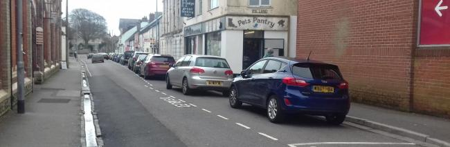 IMPROVEMENTS: If approved, changes will affect parking in Holyrood Street, Chard