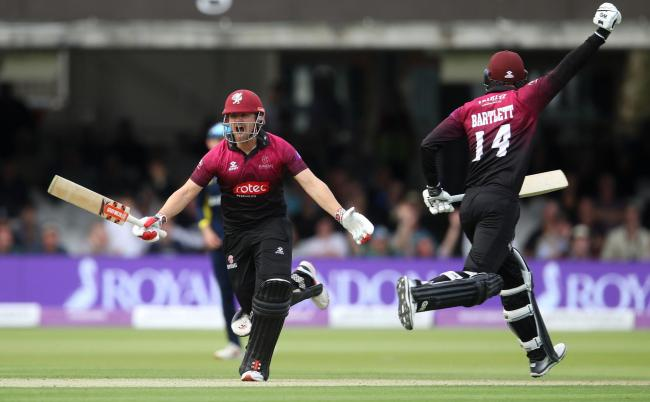 TITLE DEFENCE: Somerset are the One-Day Cup holders, having won the trophy at Lord's in 2019 (pic: Tim Goode/PA Wire)