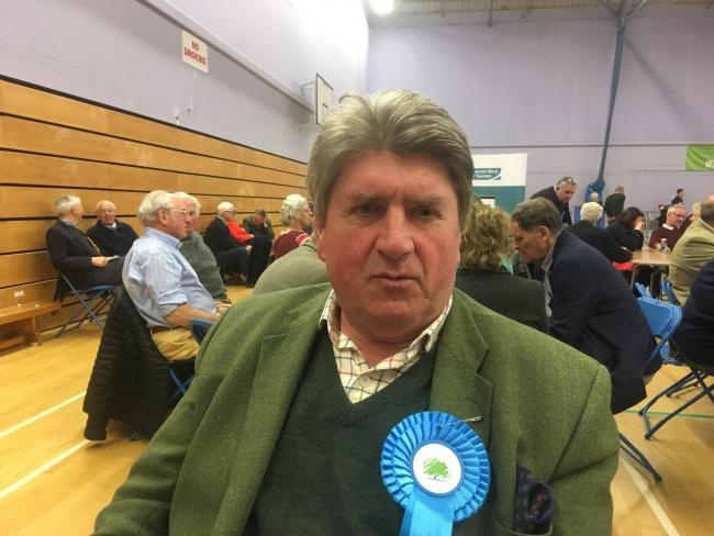 Anthony Trollope Bellew, Conservative Councillor For South Quantock. CREDIT: Daniel Mumby. Free to use for all BBC wire partners.